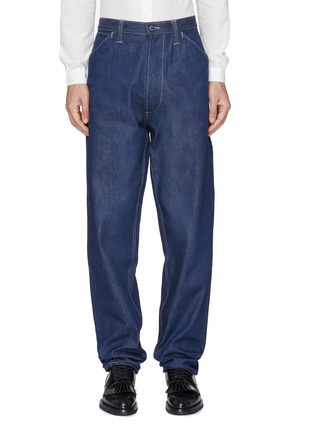 Main View - Click To Enlarge - E. Tautz - 'Chore' straight leg jeans