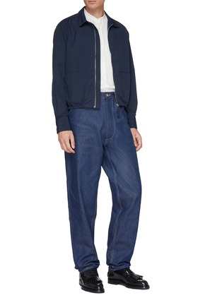 Figure View - Click To Enlarge - E. Tautz - 'Chore' straight leg jeans