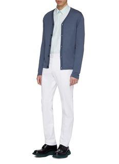E. Tautz 'Lineman' patch pocket oversized boxy Oxford shirt