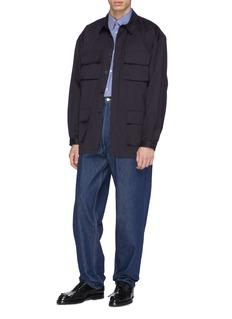 E. Tautz 'Ralph' belted twill shirt jacket