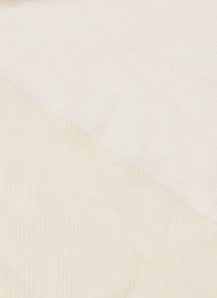 - ESTEBAN CORTAZAR - Gathered drape strappy shoulder jersey dress