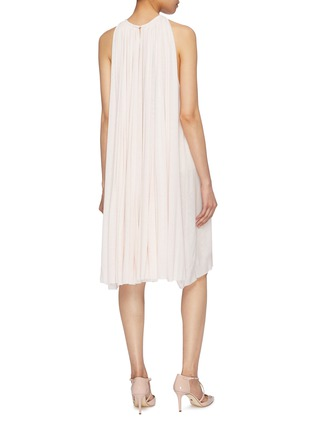 Back View - Click To Enlarge - ESTEBAN CORTAZAR - Pleated jersey sleeveless dress