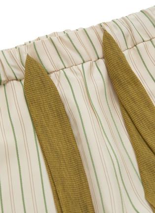 - ESTEBAN CORTAZAR - Stripe wide leg pants