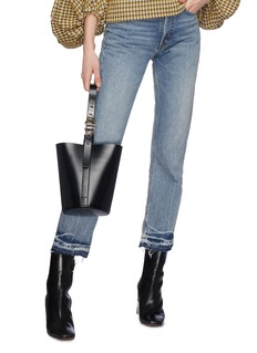 Trademark 'Classic' small leather bucket bag