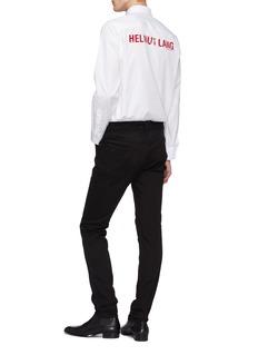 Helmut Lang Logo print back shirt