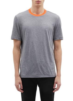 Main View - Click To Enlarge - Helmut Lang - 'Parachute' appliqué T-shirt