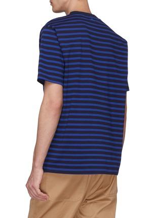 - Anna Beam - Patch pocket stripe unisex T-shirt