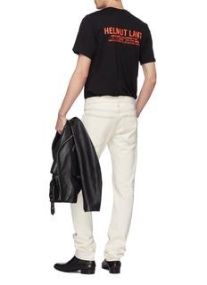 Helmut Lang 'Halloween' graphic logo print T-shirt