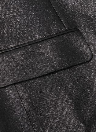 - VICTORIA, VICTORIA BECKHAM - Peaked lapel metallic blazer