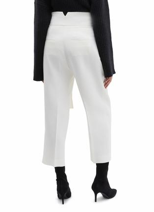 Back View - Click To Enlarge - PETAR PETROV - 'Hayes' ring buckled virgin wool-silk pants