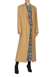 rokh Split side notched lapel coat