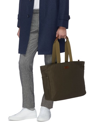 Figure View - Click To Enlarge - TRUNK - x PORTER canvas zip tote bag