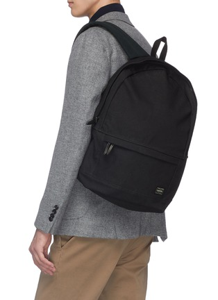 Figure View - Click To Enlarge - TRUNK - x PORTER canvas daypack