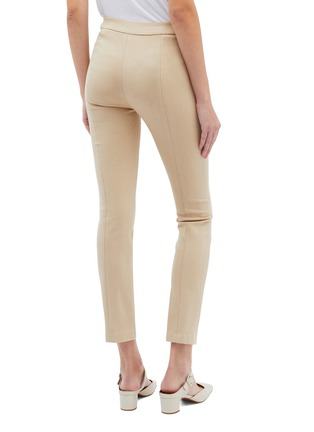 Back View - Click To Enlarge - ROSETTA GETTY - Slim fit pintucked pants