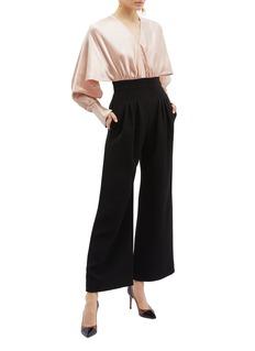 Roksanda 'Ellia' split sleeve colourblock jumpsuit