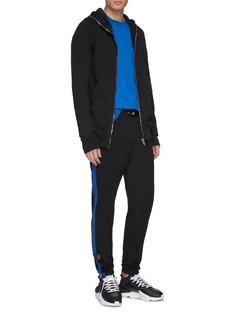 Ben Taverniti Unravel Project  Stripe outseam track pants