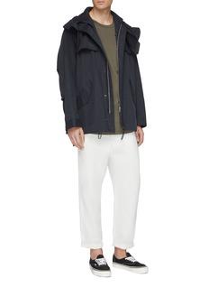 KURO Hooded windbreaker jacket