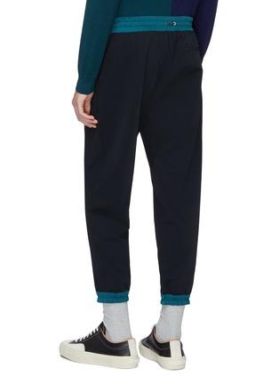 Back View - Click To Enlarge - kolor - Contrast border jogging pants