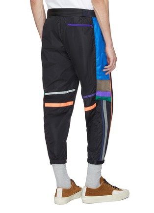 Back View - Click To Enlarge - kolor - Colourblock outseam track pants