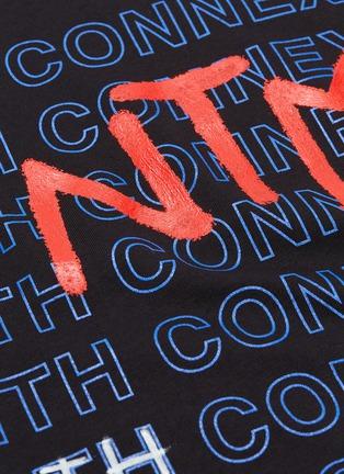 - FAITH CONNEXION - x NTMB logo print T-shirt