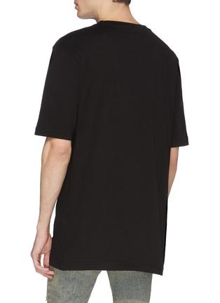 Back View - Click To Enlarge - FAITH CONNEXION - x NTMB logo print T-shirt