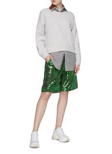 Plan C Paillette shorts