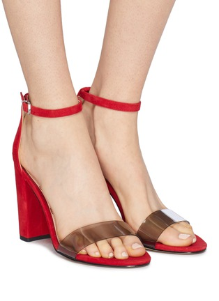 67a46a53afba Figure View - Click To Enlarge - Sam Edelman -  Yaro  PVC band ankle