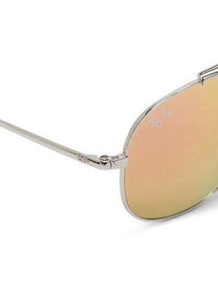Detail View - Click To Enlarge - Ray-Ban - 'RJ9561' mirror metal aviator junior sunglasses