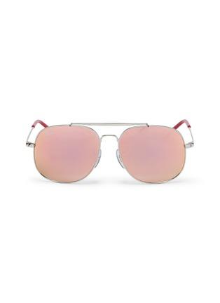 Main View - Click To Enlarge - Ray-Ban - 'RJ9561' mirror metal aviator junior sunglasses