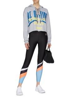 P.E Nation 'Sky Shot' colourblock performance leggings