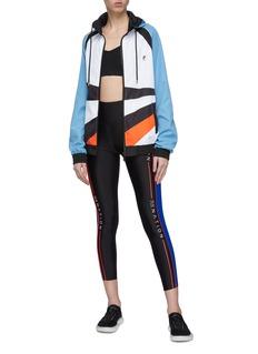 P.E Nation 'Sky Shot' colourblock hooded jacket