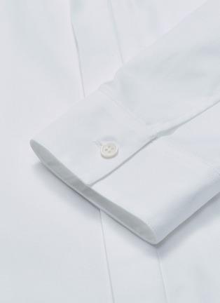 - OAMC - Logo tag chest pocket Oxford shirt