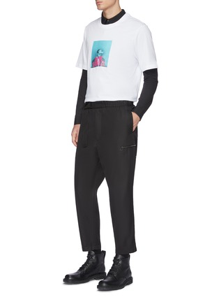 Figure View - Click To Enlarge - OAMC - Cropped mountaineering pants