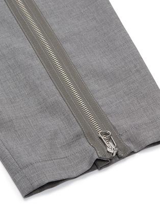 - OAMC - Zip cuff cropped virgin wool hopsack pants