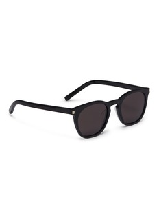 SAINT LAURENT Acetate square sunglasses