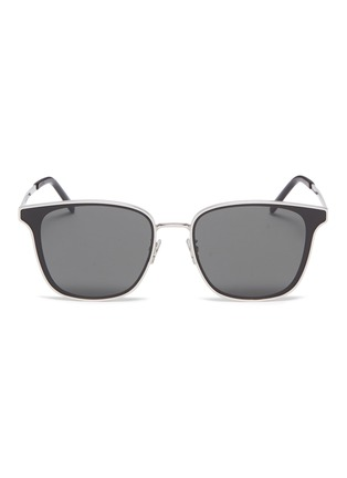 Main View - Click To Enlarge - SAINT LAURENT - Metal frame square sunglasses