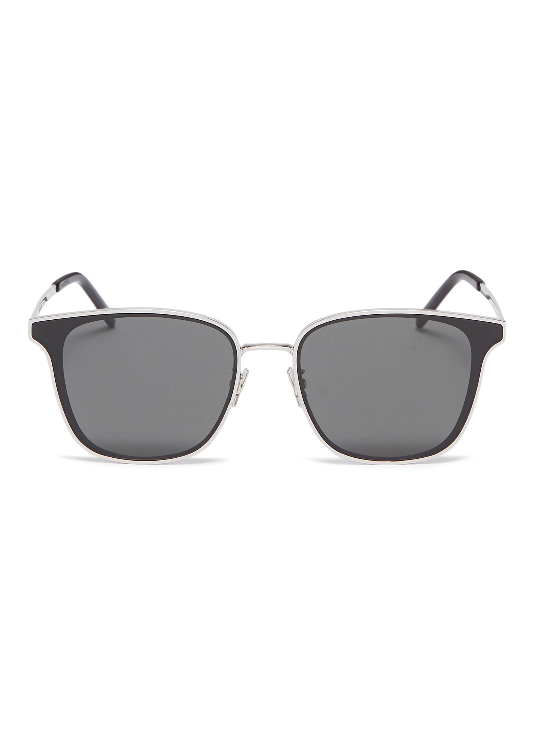 fa730978b2f5 SAINT LAURENT | Metal frame square sunglasses | Men | Lane Crawford