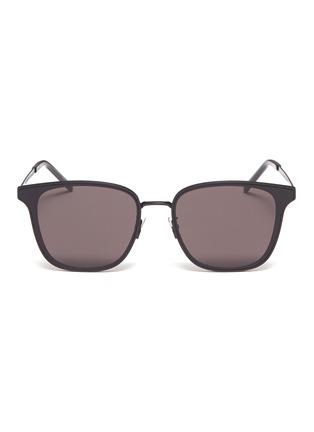 Main View - Click To Enlarge - SAINT LAURENT - Metal frame square sunglasses