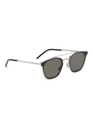 115503187a1 Figure View - Click To Enlarge - SAINT LAURENT -  Classic 28  metal square