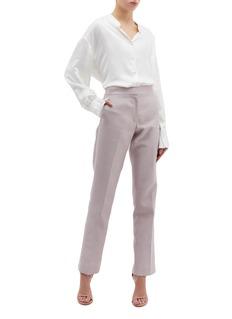 Thomas Puttick Split back cuff suiting pants