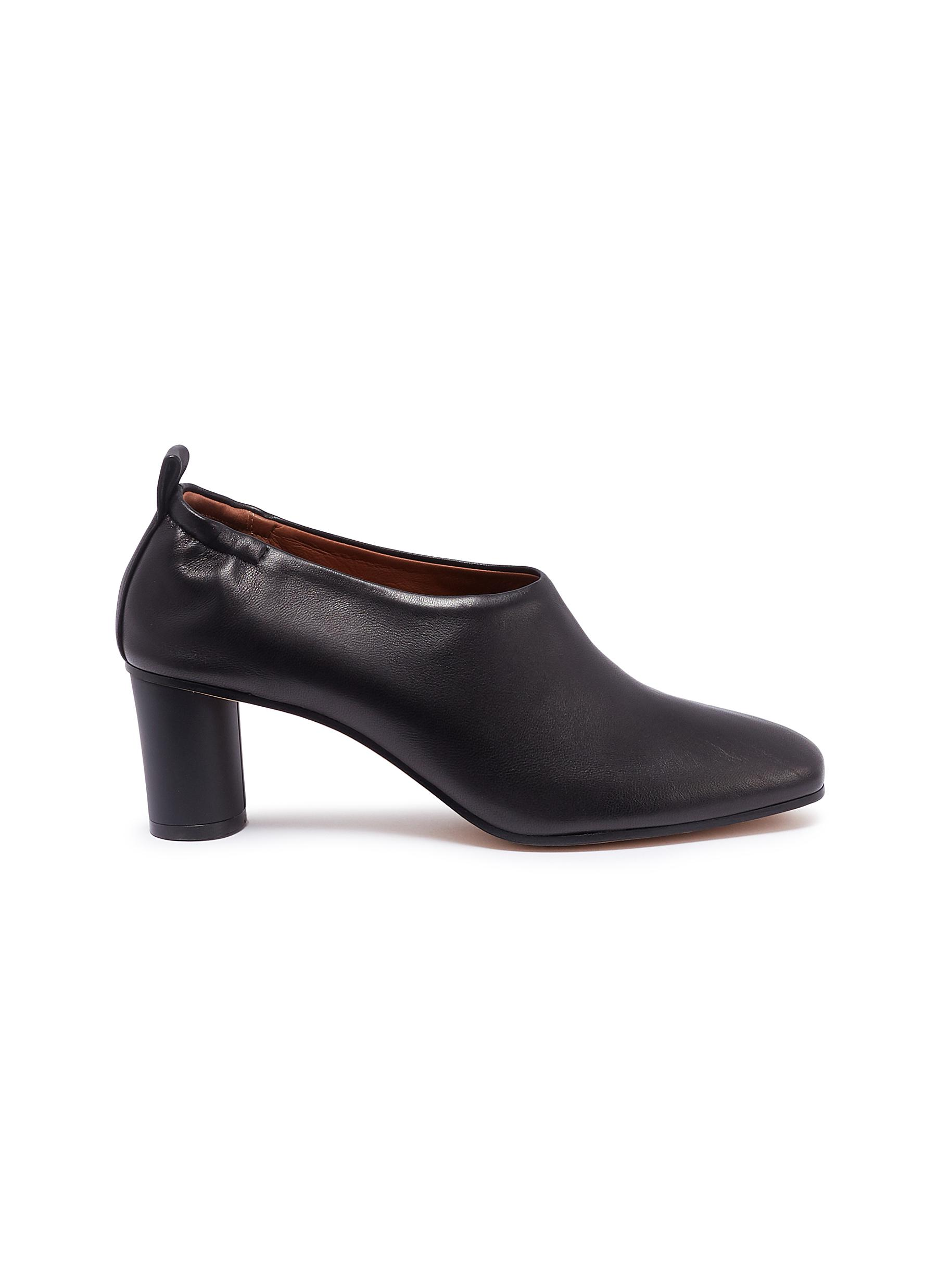"""Micol choked-up leather pumps by Gray Matters"