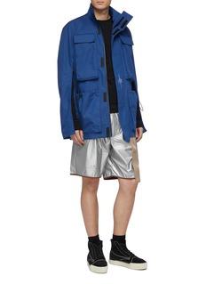 Oakley by Samuel Ross 'Skydiver' mix pocket zip sleeve field jacket