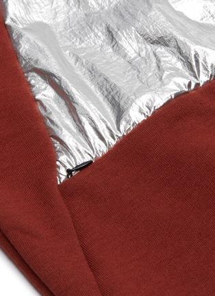 - OAKLEY BY SAMUEL ROSS - Metallic panel half-zip sweatshirt