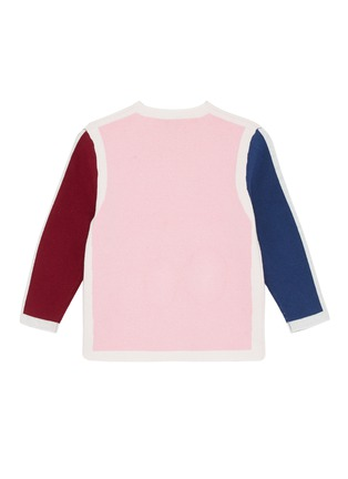 Figure View - Click To Enlarge - PH5 - Contrast edge colourblock sweater