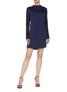 Les Héroïnes 'The Billie' sash drape open back dress