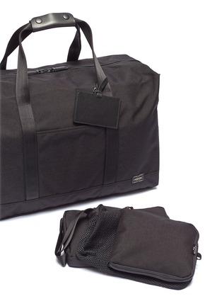 Detail View - Click To Enlarge - Monocle - x PORTER Boston bag – Black