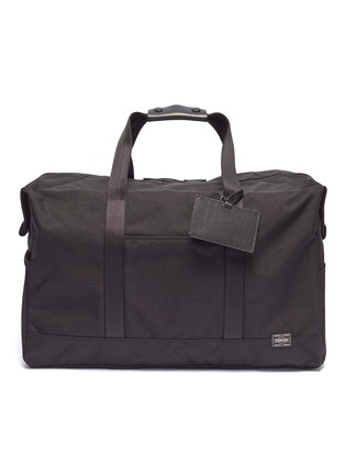 Main View - Click To Enlarge - Monocle - x PORTER Boston bag – Black
