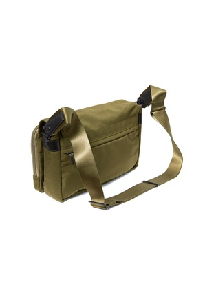 Back View - Click To Enlarge - Monocle - x PORTER city bag – Olive