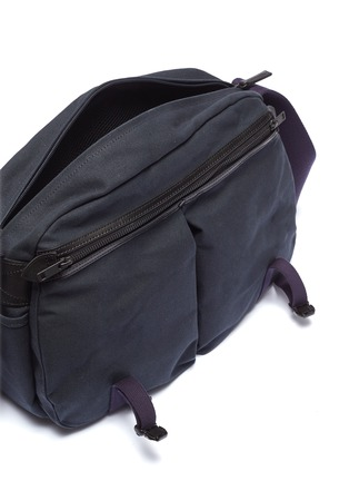 Detail View - Click To Enlarge - Monocle - x PORTER travel shoulder bag – Navy