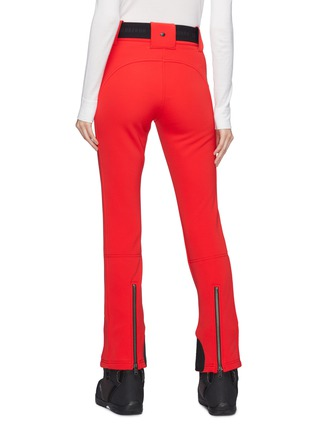 Back View - Click To Enlarge - GOLDBERGH - 'Pippa' belted zip cuff Schoeller® ski pants